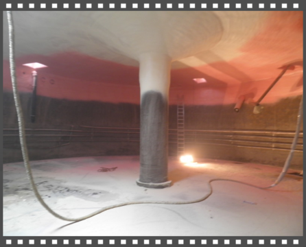 Biogáz-tartályok szigetelése